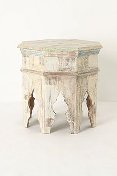 #table #moroccan #reclaimed #wood #anthropologie
