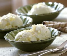 Ginger Ice Cream by Fine Cooking