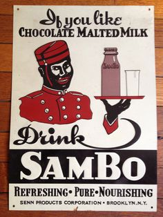 Sambo Advertising Tin