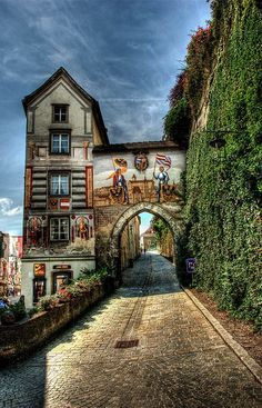 Austria Travel Inspiration - Steyr, Austria is located along the Enns Bicycle path, a 245 km route that connects with the Danube. Places Around The World, Oh The Places You'll Go, Places To Travel, Places To Visit, Around The Worlds, Steyr, Wonderful Places, Beautiful Places, Europa Tour