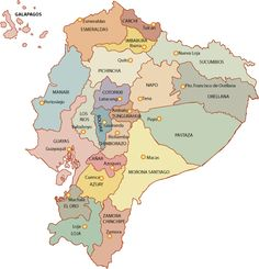 Province map of Ecuador. Ecuador is divided into 24 provinces each with its own administrative capital Quito, Region Amazonia, Maldives, Places To Travel, Places To Visit, Peru, Ocean Photography, Photography Tips, Geography