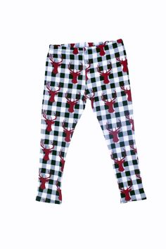 Available in Baby & Toddler sizes 3 Months - Made of Cotton and Love! Baby Couture, Baby Leggings, Buffalo Check, Christmas Holidays, Toddler Girl, Pajama Pants, Skinny, Cotton, Stuff To Buy