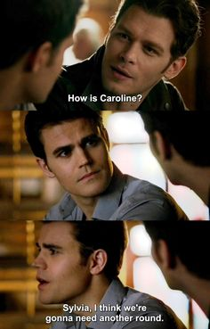 The Vampire Diaries TVD 7X14 - Stefan and Klaus