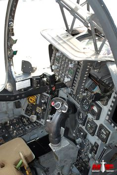 McDonnell Douglas / BAe Systems AV-8B Harrier II Cockpit Picture