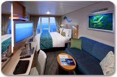 Cabine com varanda - Allure of the Seas - Royal Caribbean