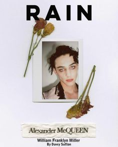 William Franklyn Miller, Alexander Mcqueen, Polaroid Film, Lips, Rain, Instagram, Backgrounds, Rain Fall, Alexander Mcqueen Couture