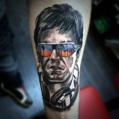 Discover Al Pacino ink with the top 40 best Scarface tattoo design ideas for men. Explore cool iconic mobster themed pieces from the movie. Inner Forearm Tattoo, Forearm Tattoos, Hand Tattoos, Anonymous Tattoo, Betty Boop Tattoos, Famous Tattoos, Best Sleeve Tattoos, Al Pacino, Hand Sketch