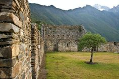 Cusco Photos at Frommer's - The Inca ruins of Choquequirao in the mountains of Peru.