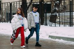 Russia Fashion Week Fall 2018 Street Style