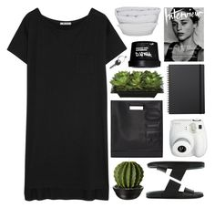 """sunday"" by zarcarla ❤ liked on Polyvore featuring T By Alexander Wang, By Nord, Maison Margiela, Lux-Art Silks, 3.1 Phillip Lim, Helmut Lang, Polaroid and Muji"