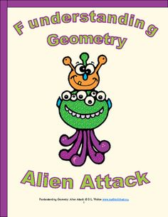 Funderstanding Geometry: Alien Attack from Ed-U-Smart on TeachersNotebook.com -  (17 pages)  - Funderstanding Geometry: Alien Attack is a fun, creative cross curricular math and creative writing activity aligned to 3rd and 5th grade Common Core Math and ELA standards.