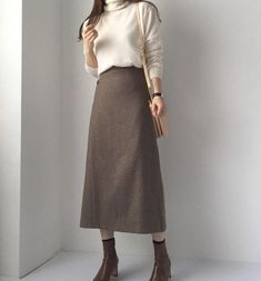 womens fashion street summer - Casual Summer Outfits for Work Modest Fashion, Women's Fashion Dresses, Hijab Fashion, Korean Fashion, Fasion, Korean Outfits, Mode Outfits, Casual Outfits, Casual Skirts