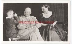 DWIGHT EISENHOWER & MAMIE RPPC - 1952 POLITICAL Presidential Campaign