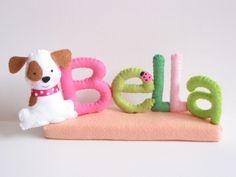Bella- filc névtábla, Otthon, lakberendezés, Dekoráció, Baba-mama-gyerek, Meska