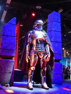Gwendoline Christie Star Wars: The Force Awakens Captain Phasma costume