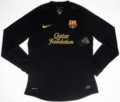cc1cd8a38 2011-12 Barcelona L S Player Issue Away Shirt  BNIB  Vintage Football