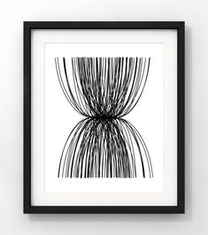 Your place to buy and sell all things handmade Abstract Line Art, Modern Art, Tapestry, Black And White, Unique Jewelry, Handmade Gifts, Etsy, Vintage, Home Decor