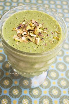 Because of St. Patrick's Day, I've been seeing lots of green when it comes to recipes the last few weeks!A lot of them have pistachios as an ingredient, and I love pistachios! So I thought I'd try...