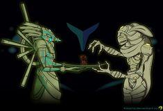 Chozo Offering - dark by Elearia on deviantART