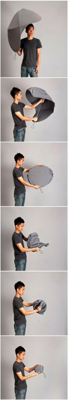 Creative umbrella design. Diseño de sombrilla