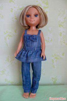 Комбинезон и бриджи. - Одежда для куклы Нэнси (фирма Famоsa) - Страна Мам