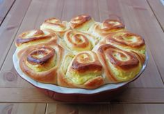 Ring Cake, Scones, Fudge, Cake Recipes, French Toast, Deserts, Muffin, Yummy Food, Bread