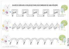 Ideia Criativa - Gi Barbosa Educação Infantil: Atividade Páscoa Coordenação Motora Fina