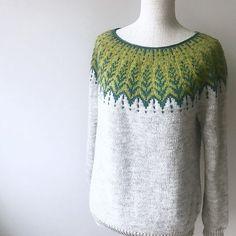 Ravelry: himawari's Vintersol Test by patrica Fair Isle Knitting, Knitting Yarn, Hand Knitting, Ravelry, Knitting Patterns, Knitting Projects, Knitwear, Knit Crochet, Models