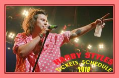 Harry Styles - The easiest way to buy concert tickets (seller – SeatGeek). Harry Styles - Tour 2018 - Tickets, Tour dates, Schedule. Styles' tour will resume in Basel, Switzerland in March 2018 and will end in L.A. in July 2018. Styles will be joined by country singer Kacey Musgraves in the U.S. and Canada, indie rockers Warpaint in Asia, and soul artist Leon Bridges in South America and Mexico.