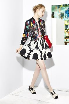 Alice + Olivia | Resort 2015 Collection | Style.com - So in love with this look