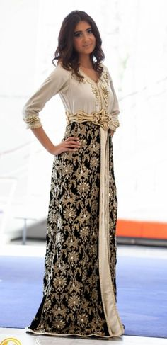 Awesome collection of Moroccan caftan abaya dresses ideas for function (10)