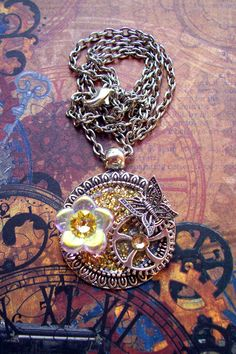Simple, Elegant...and it Sparkels! A cute gift for that special Steampunk-er in your life!  Or perhaps a treat for yourself! Check this and many other fine Steampunkery on the Etsy shop!