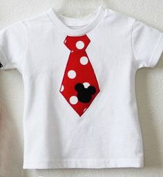 Boys Mickey Mouse Tie Shirt Newborn to 8 Personalize It! - Children's Disney Clothing - Cassie's Closet Disney Ties, Disney Shirts, Disney Outfits, Disney Fun, Disney Cruise, Disney Vacations, Christmas Onsies, Christmas Applique, Disney Christmas