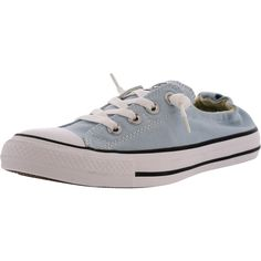 Converse - Women's CT All Star Shoreline Low Canvas Sneakers - Blue/White