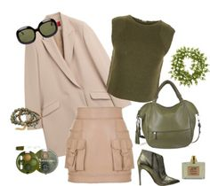 How To Wear Olive Green For A Warm Autumn