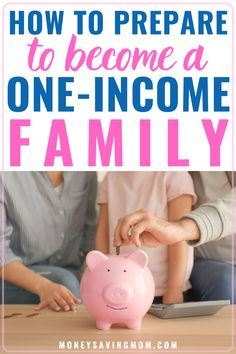 With many losing jobs temporarily, learn how to survive on one income. You can prepare with a new budget to not only survive but thrive if you've had a major decrease in income. Save Money On Groceries, Ways To Save Money, Money Tips, Living On A Budget, Frugal Living Tips, Dave Ramsey Envelope System, One Income Family, Money Saving Mom, Budgeting Finances