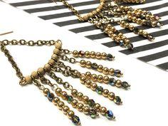 DIY You So Fancy Earrings | Alonso Sobrino Hnos. Co. & Inc. Druzy Beads and Fabrics