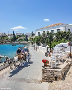 Spetses island Saronic gulf, Greece