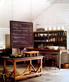Ellen and Portia's kitchen in their California ranch home. PRISCILLA MAE et al