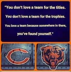 Born and raised a bears fan