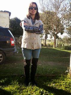 over the knee boots  FEMINA - Modéstia e elegância (por Aline Rocha Taddei Brodbeck): Grávida, com skinny e bota over the knee