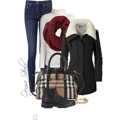 A fashion look from November 2014 featuring P.A.R.O.S.H. sweaters, Doublju jackets and rag & bone jeans. Browse and shop related looks.