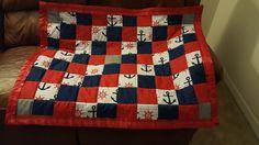 Anchor furbaby blanket