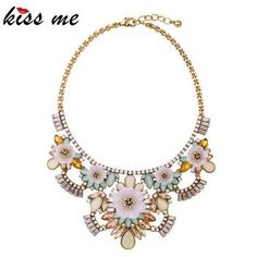 Wholesale Women High Quality Fashion Statement Necklace Jewelry
