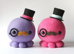 guys in top hats with colorful mustaches - Google Search