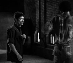bruceleeonline:How fast is Bruce Lee!Speed is one of the most important keysTai Chi Shoes andFeiyue ShoesReblog, INSTANT FOLLOW BACK!