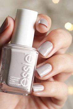 Essie 'Marshmallow'