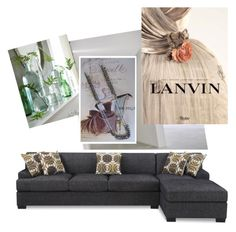 """""""Modern, cool and minimalist"""" by ourdesignpages on Polyvore featuring interior, interiors, interior design, home, home decor, interior decorating, Poundex, Lanvin and modern"""