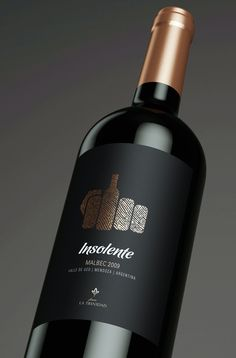 Insolente Wine — The Dieline - Branding & Packaging