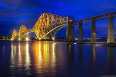 Because the Forth Rail bridge never fails to take your breath away. Edinburgh